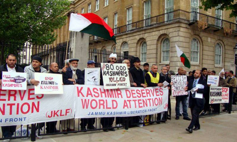 Big rally in New York's Time Square slams Indian actions in Jammu & Kashmir
