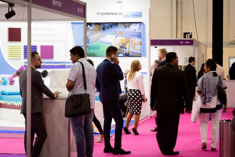 Middle East's premier event for the sleep market gets underway in Dubai