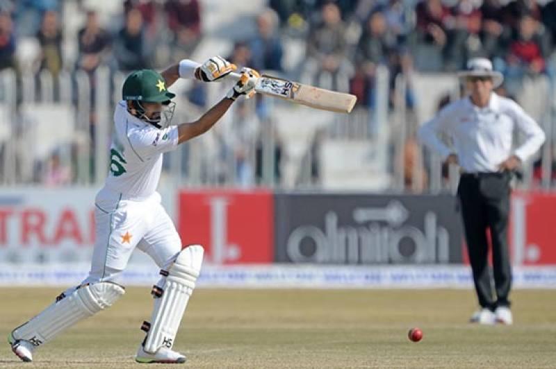 Naseem removes Saif after Pakistan put on big 212-run lead