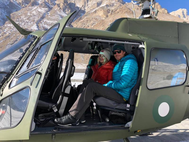 Pakistan Army rescues US, Finland mountain climbers from Broad Peak in Gilgit
