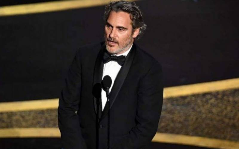 Joaquin Phoenix wins best actor Oscar for 'Joker'