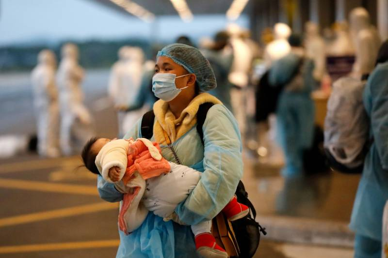 Coronavirus spreading outside China could spark 'bigger fire': WHO