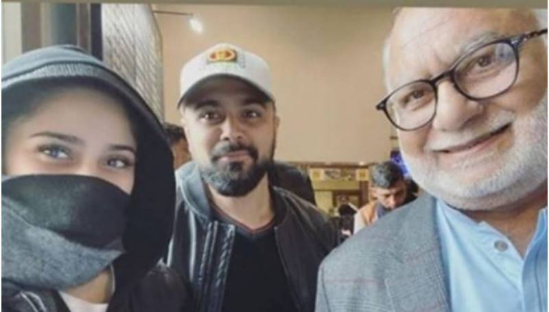 Aima Baig is off to perform the holy pilgrimage of Umrah with family