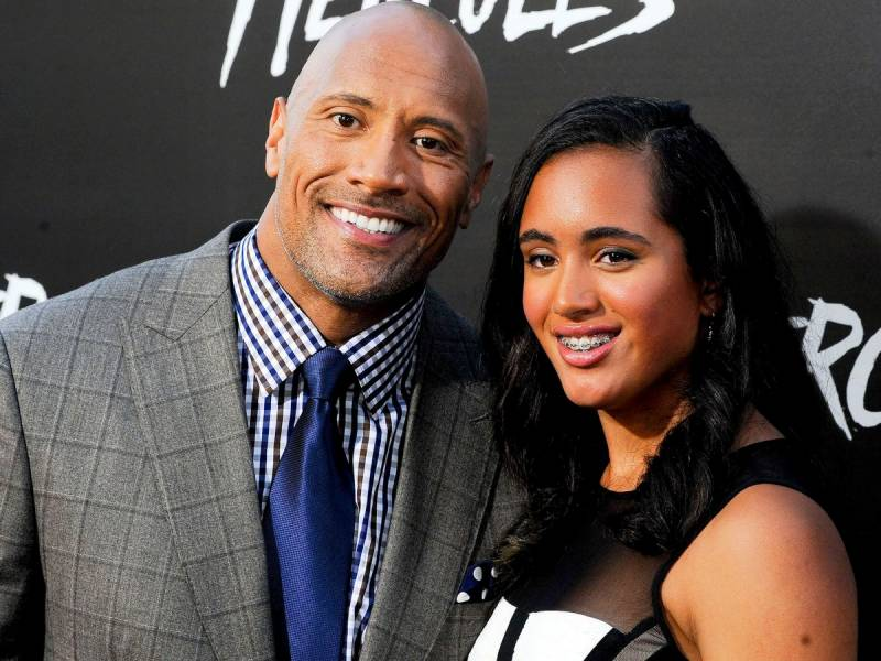 Dwayne Johnson's daughter Simone begins WWE training