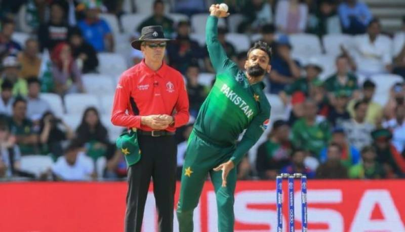 Mohammad Hafeez once again clears bowling action test