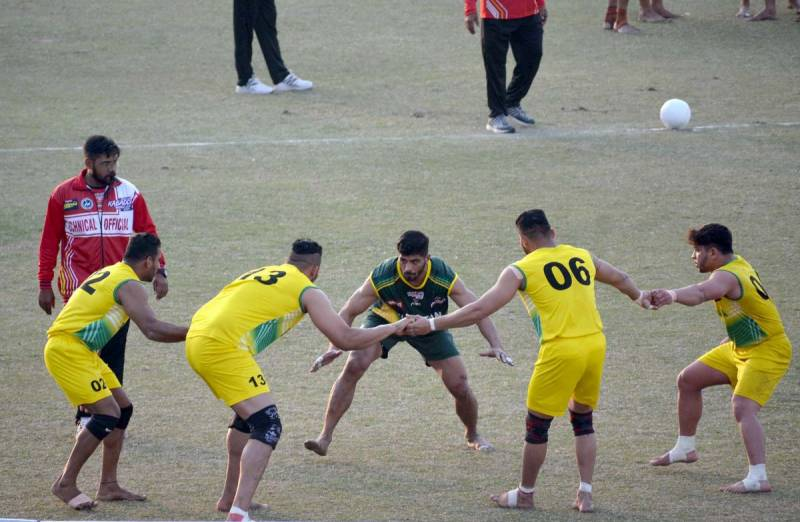 Pakistan routs Australia to reach Kabaddi World Cup semis
