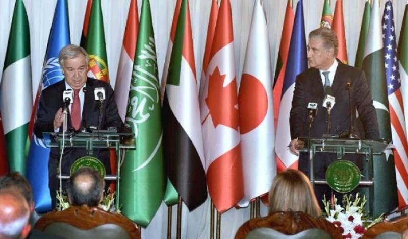 Guterres commends Pakistan' contributions towards UN's charter, objectives