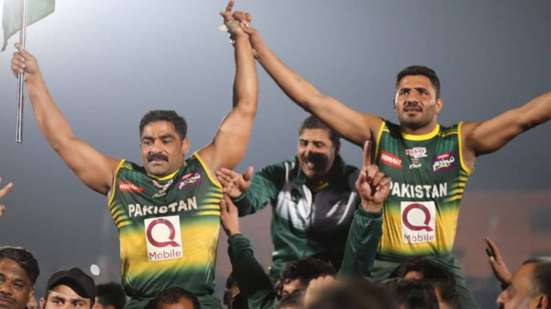 Pakistan beat India to lift first-ever Kabaddi World Cup