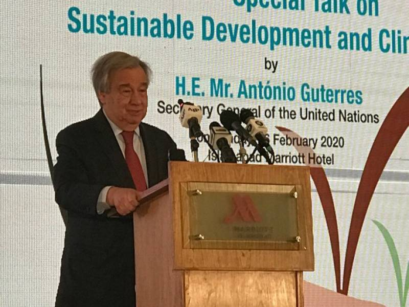 UN chief Guterres calls for full respect to human rights in Occupied Kashmir