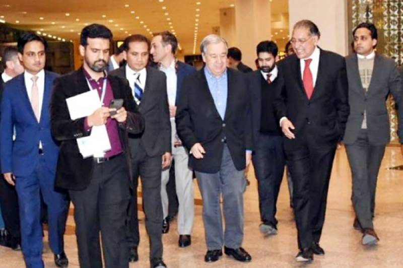 UN Secretary General arrives Islamabad on four-day visit