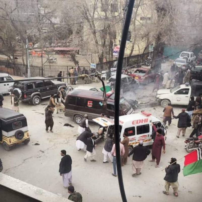 7 killed in Quetta's Shara-e-Iqbal road blast
