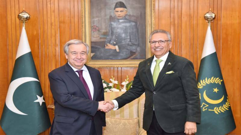 UN chief lauds Pakistan's contribution while hosting Afghan refugees for 4 decades
