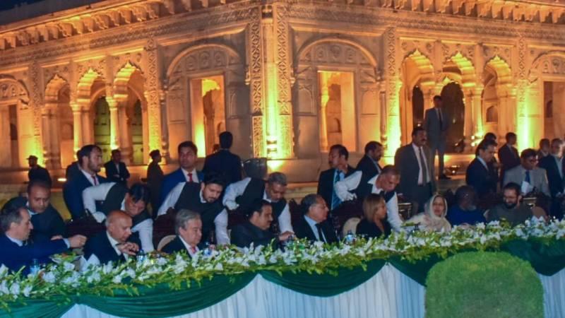 UNSG Guterres visits Badshahi Mosque, Lahore Fort