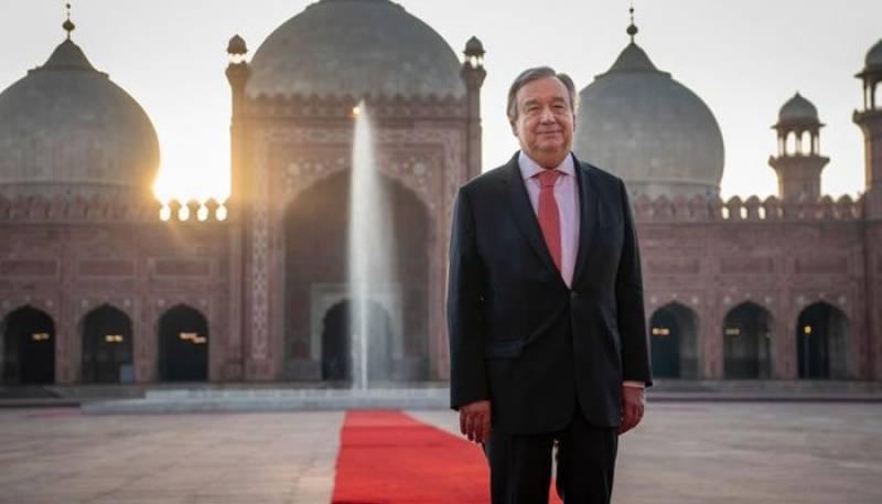UN chief Antonio Guterres concludes Pakistan visit