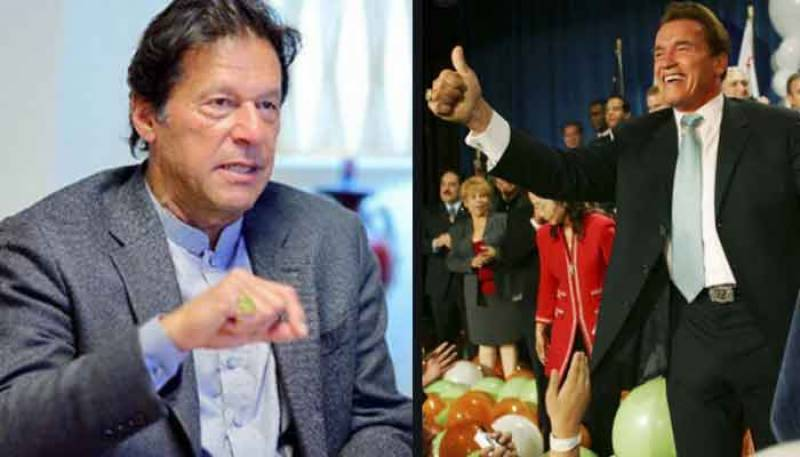 Arnold Schwarzenegger invites PM Imran Khan to join Austrian World Summit