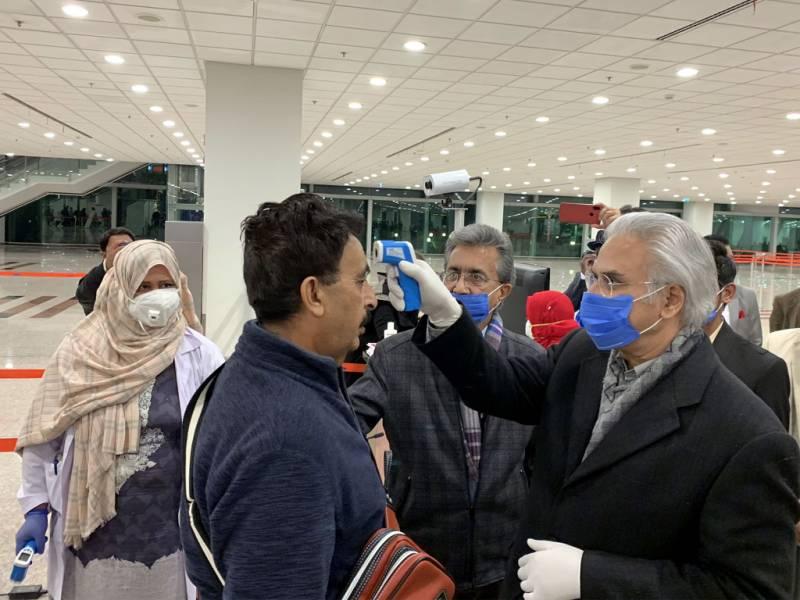 No coronavirus case in Pakistan; screening continues at airports