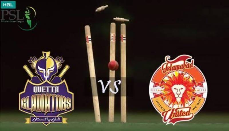 PSL5–Match 1: Quetta Gladiators beat Islamabad United by 3 wickets