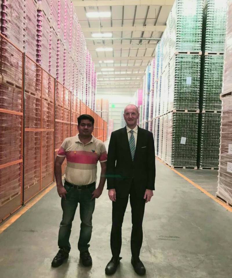 UK deputy high commissioner visits industrial cities of Pakistan