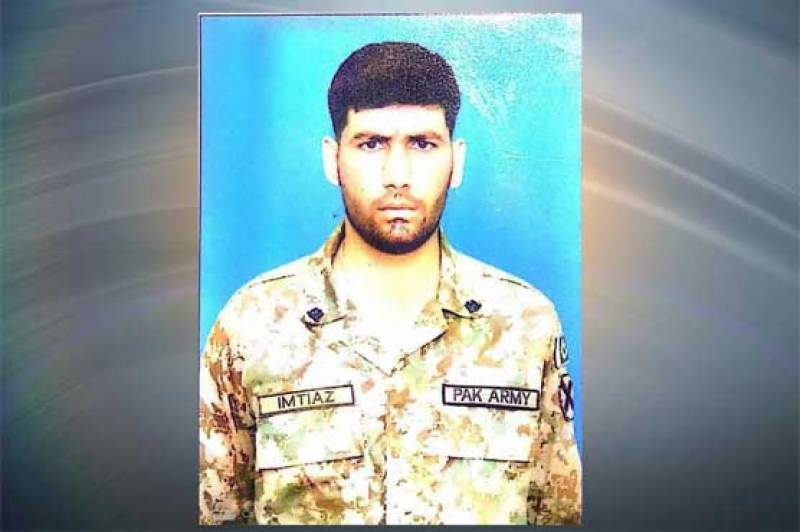 Pak Army soldier martyred in Indian ceasefire violation along LoC