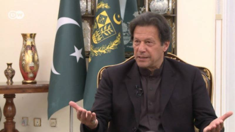 Indian forces turn whole valley of Occupied Kashmir into jail, says PM Imran