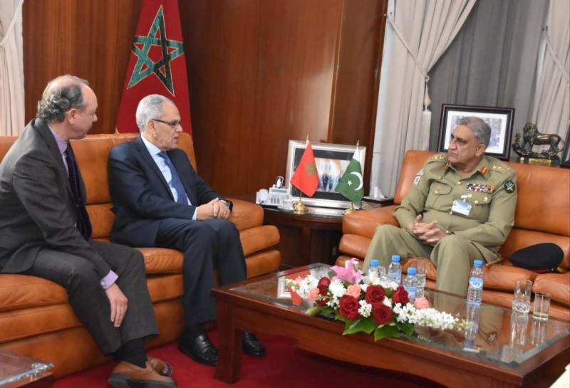 Pakistan will always stand with Morocco in difficult times, says COAS Bajwa