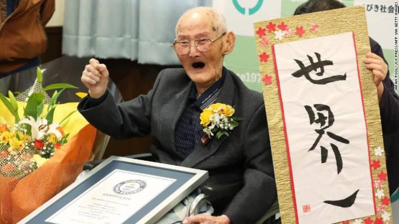 World's oldest living man dies in Japan