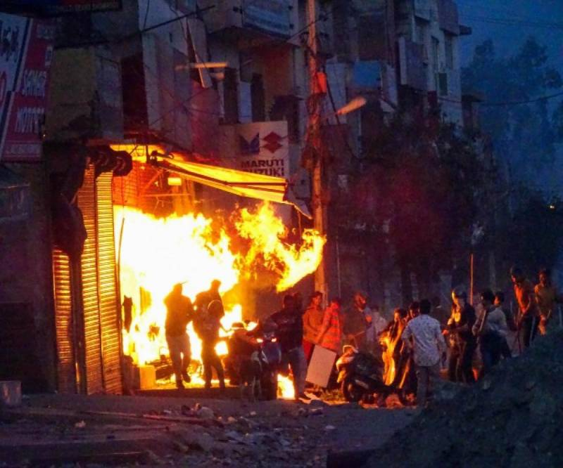 Delhi riots: 13 killed after Hindus clash with Muslims in India over controversial citizenship law