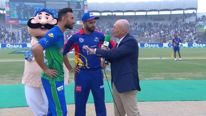 Karachi kings win toss, elect to field first against Multan Sultans
