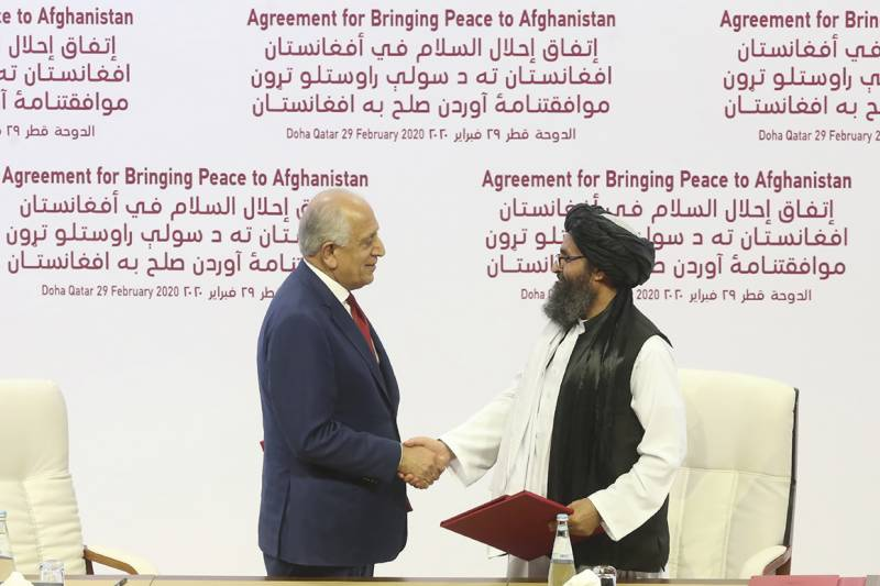 Doha: US and Taliban sign historic peace deal to end Afghan war