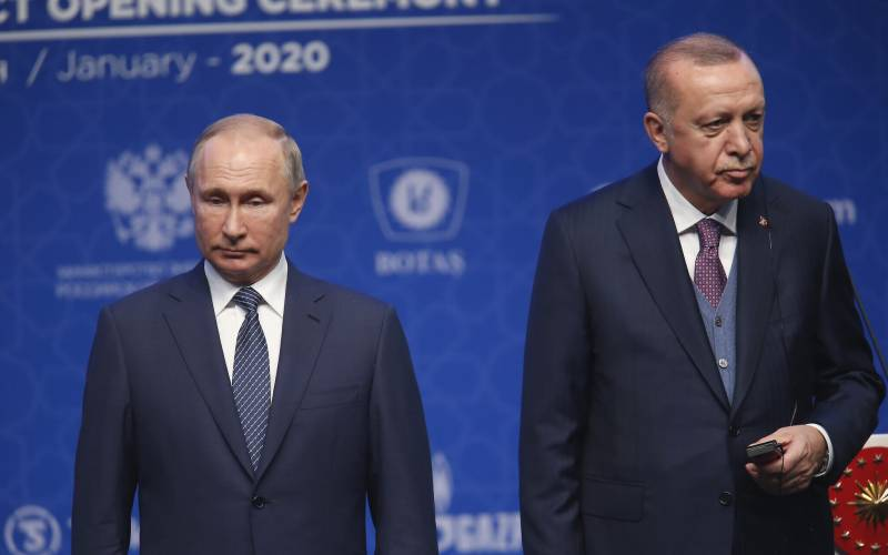 Turkey asks Russia to step aside in Syria