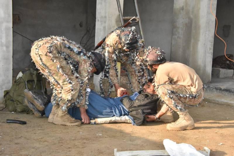 Third Int'l Pakistan Army Team Spirit Competition-2020 underway in Kharian