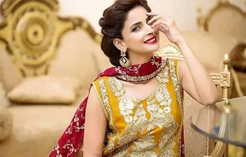 Dance video of Saba Qamar on Bollywood song Nagin goes viral