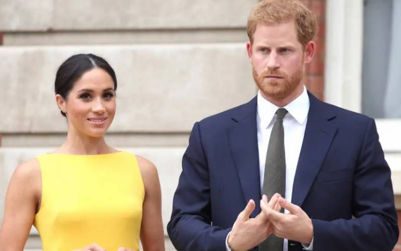 Harry and wife Meghan begin farewell royal events