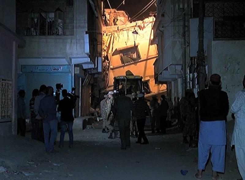 Karachi building collapse death toll rises to 16