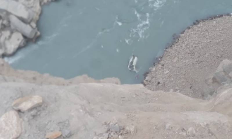 20 passengers killed as coach plunges into in Indus River near Skardu