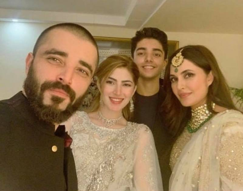 Hamza Ali Abbasi pays a sweet tribute to his mother, sister and wife on International Women's Day
