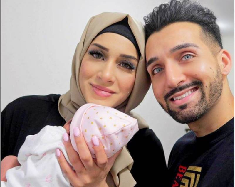 Sham Idrees, Froggy welcome a baby girl