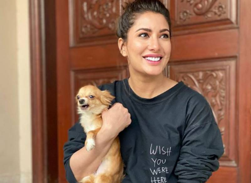 Mehwish Hayat shares heartbreaking note for her late puppy- Balooni