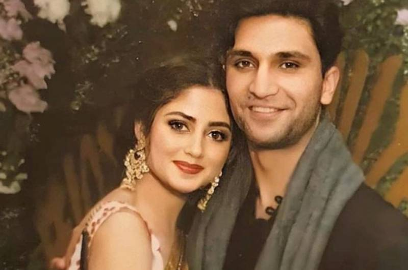 Ahad Raza Mir, Sajal Aly kick off wedding festivities