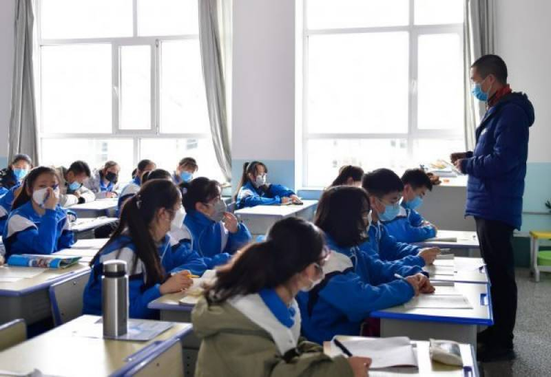 Schools start classes again in China's Qinghai province