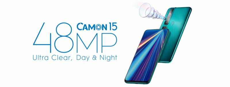 TECNO finally uncovers the name of its upcoming model - Camon 15