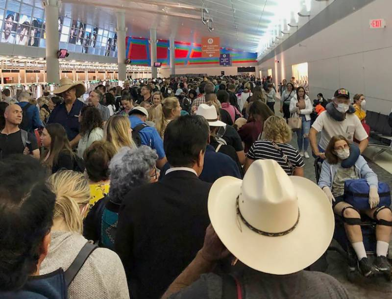 COVID-19: Chaos at US airports after new health screenings to control coronavirus