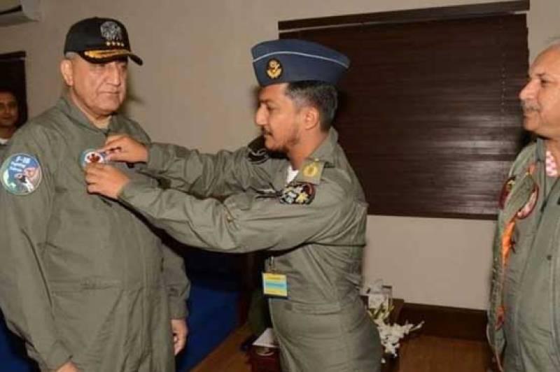 COAS Bajwa visits family of Wing Commander Noman Akram Shaheed