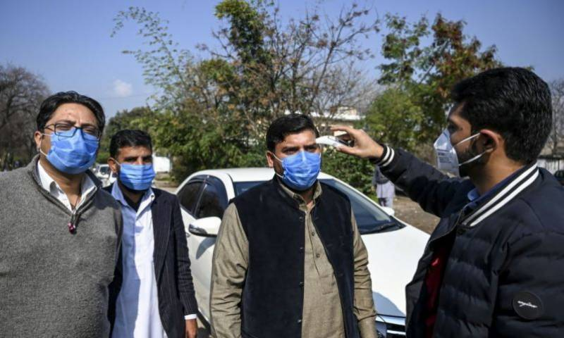 First coronavirus case reported in Lahore