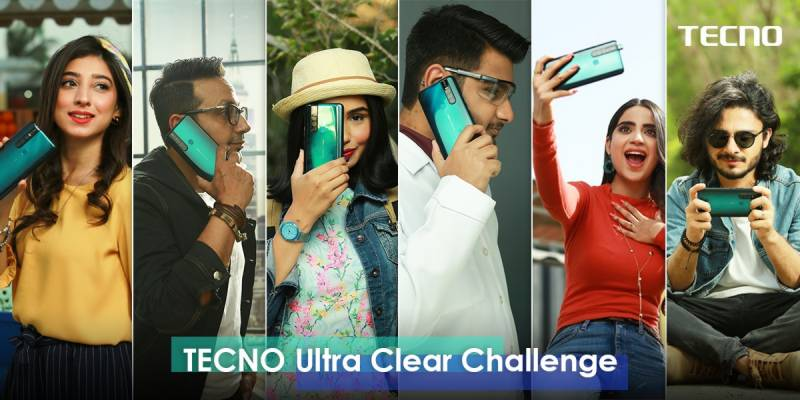 "Tecno's ""Ultra-clear Challenge"" with top-six KOL's"