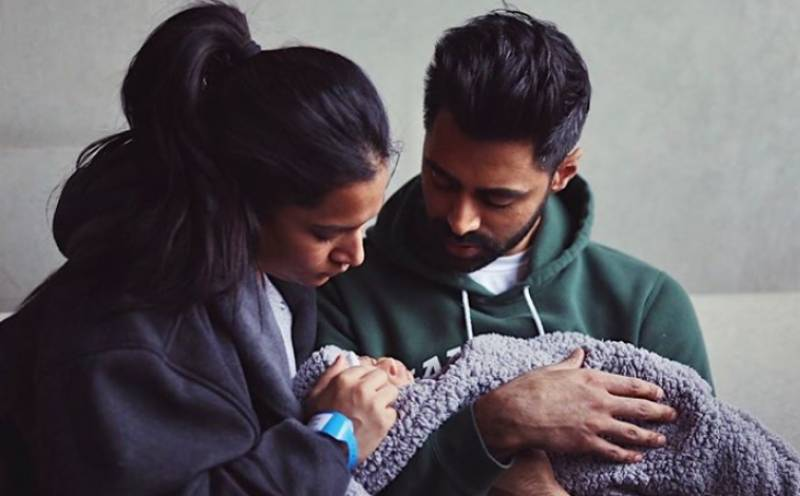 Hasan Minhaj and wife welcome baby boy