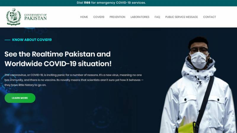 Pakistan launches website to see real-time COVID-19 situation Worldwide