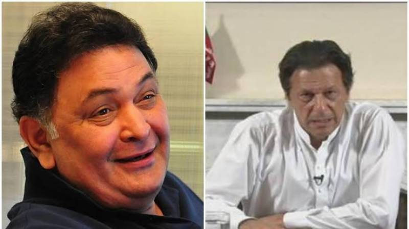 Coronavirus: Rishi Kapoor advises PM Imran 'with all due respect'