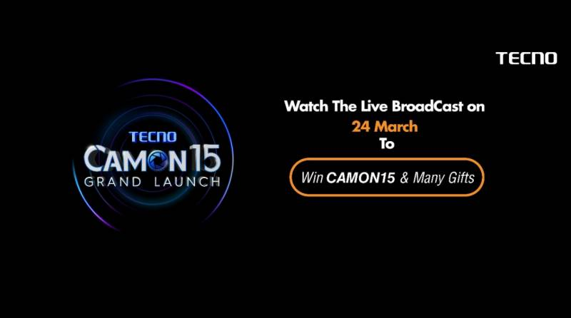 Catch us live on TECNO Camon 15 launch event