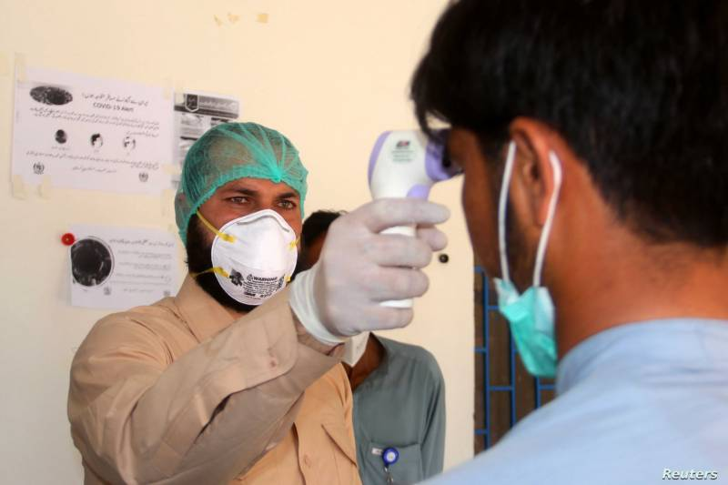 Coronavirus cases reaches to 875 in Pakistan